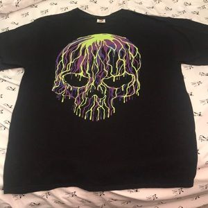 Really cool skull T-shirt!